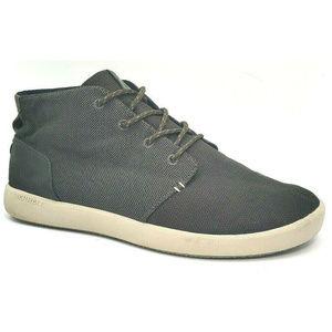 Merrell Mens Freewheel Beluga Chukka Gray Shoes 11